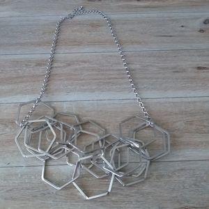 Jewelry - Geometric statement necklace